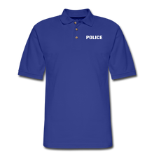 Load image into Gallery viewer, Men's Pique Polo Shirt - royal blue