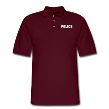 Load image into Gallery viewer, Men's Pique Polo Shirt - burgundy