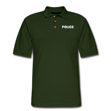 Load image into Gallery viewer, Men's Pique Polo Shirt - forest green