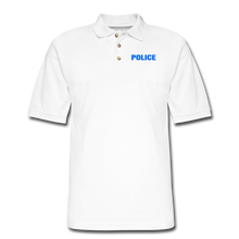 Load image into Gallery viewer, POLICE Pique Polo Shirt - white