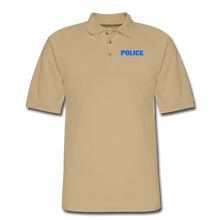 Load image into Gallery viewer, POLICE Pique Polo Shirt - beige
