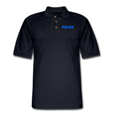 Load image into Gallery viewer, POLICE Pique Polo Shirt - midnight navy