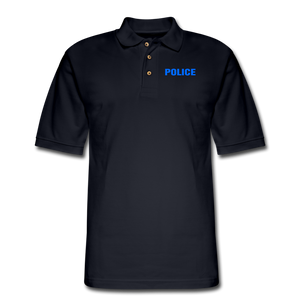 POLICE Pique Polo Shirt - midnight navy