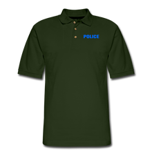 Load image into Gallery viewer, POLICE Pique Polo Shirt - forest green