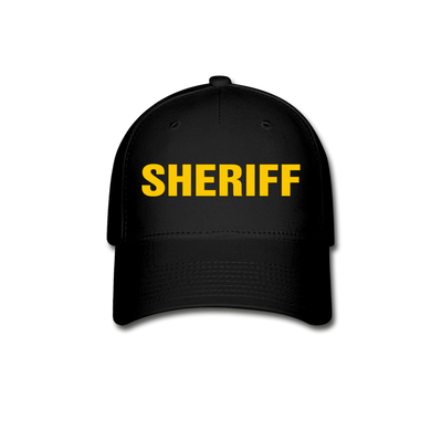 SHERIFF Cap - black
