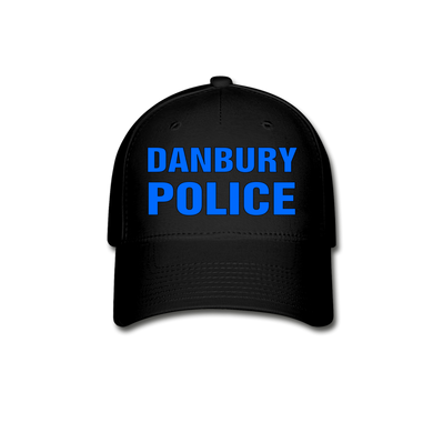 DANBURY POLICE Cap - black
