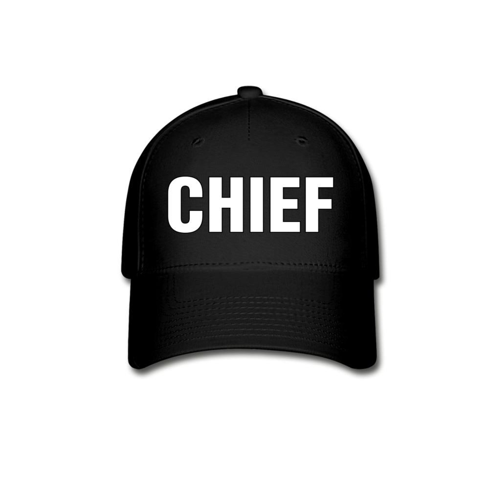 Police Chief Cap - black