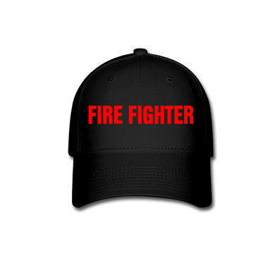 FIRE FIGHTER Cap - black