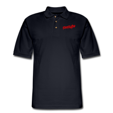 Load image into Gallery viewer, FIREFIGHTER Men's Pique Polo Shirt - midnight navy