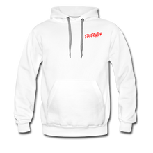 Load image into Gallery viewer, FIRE FIGHTER Men's Premium Hoodie - white