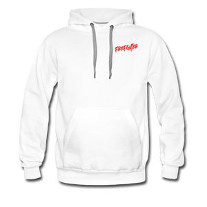 FIRE FIGHTER Men's Premium Hoodie - white