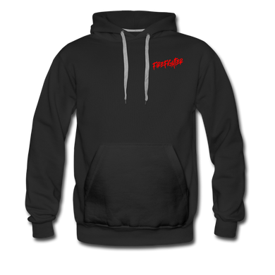 FIRE FIGHTER Men's Premium Hoodie - black