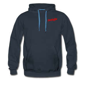 FIRE FIGHTER Men's Premium Hoodie - navy