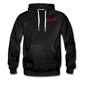 FIRE FIGHTER Men's Premium Hoodie - charcoal gray
