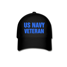 Load image into Gallery viewer, US NAVY CAP - black