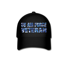 Load image into Gallery viewer, AIR FORCE VETERAN Cap - black