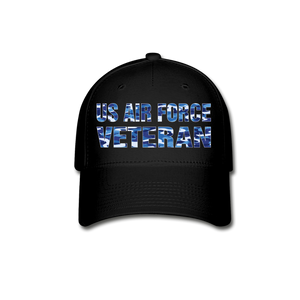 AIR FORCE VETERAN Cap - black