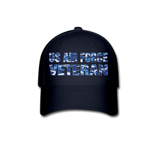 Load image into Gallery viewer, AIR FORCE VETERAN Cap - navy