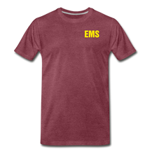 Load image into Gallery viewer, EMS Men's Premium T-Shirt - heather burgundy