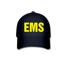 Load image into Gallery viewer, EMS Baseball Cap - navy