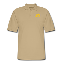 Load image into Gallery viewer, FCPO Men's Pique Polo Shirt - beige