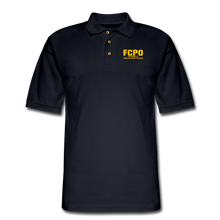 Load image into Gallery viewer, FCPO Men's Pique Polo Shirt - midnight navy