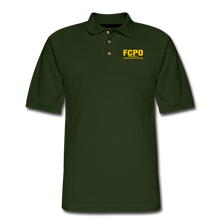 Load image into Gallery viewer, FCPO Men's Pique Polo Shirt - forest green
