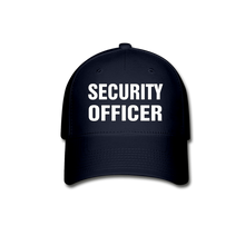 Load image into Gallery viewer, SECURITY OFFICER Cap - navy