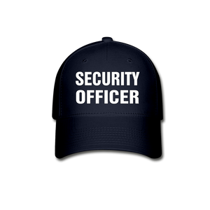 SECURITY OFFICER Cap - navy