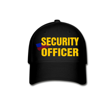 Load image into Gallery viewer, SECURITY OFFICER Cap - black