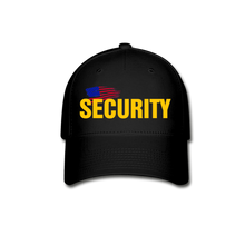 Load image into Gallery viewer, SECURITY Cap - black