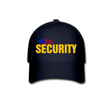 Load image into Gallery viewer, SECURITY Cap - navy