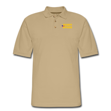 Load image into Gallery viewer, SECURITY OFFICER Pique Polo Shirt - beige