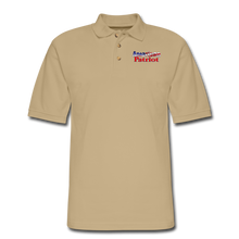 Load image into Gallery viewer, AMERICAN PATRIOT Men's Pique Polo Shirt - beige