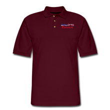 Load image into Gallery viewer, AMERICAN PATRIOT Men's Pique Polo Shirt - burgundy