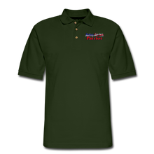 Load image into Gallery viewer, AMERICAN PATRIOT Men's Pique Polo Shirt - forest green