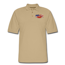 Load image into Gallery viewer, AMERICA FIRST Men's Pique Polo Shirt - beige