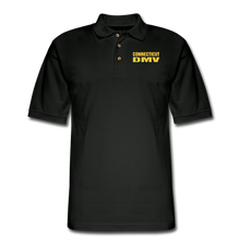 Load image into Gallery viewer, CT DMV Men's Pique Polo Shirt - black
