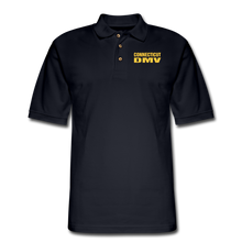 Load image into Gallery viewer, CT DMV Men's Pique Polo Shirt - midnight navy