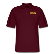 Load image into Gallery viewer, CT DMV Men's Pique Polo Shirt - burgundy