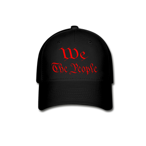 WE THE PEOPLE Baseball Cap - black