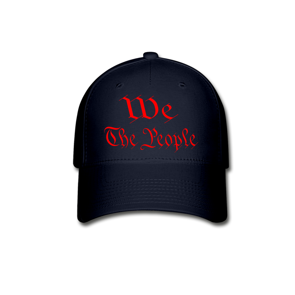 WE THE PEOPLE Baseball Cap - navy