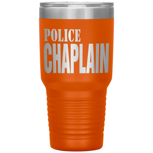 POLICE CHAPLAIN TRAVEL MUG