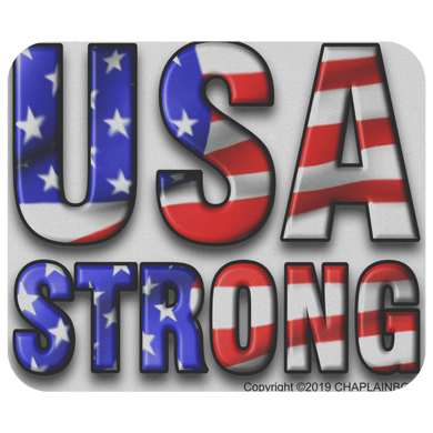 USA STRONG MOUSE PAD