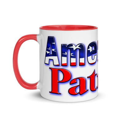 AMERICAN PATRIOT Mug with Color Inside