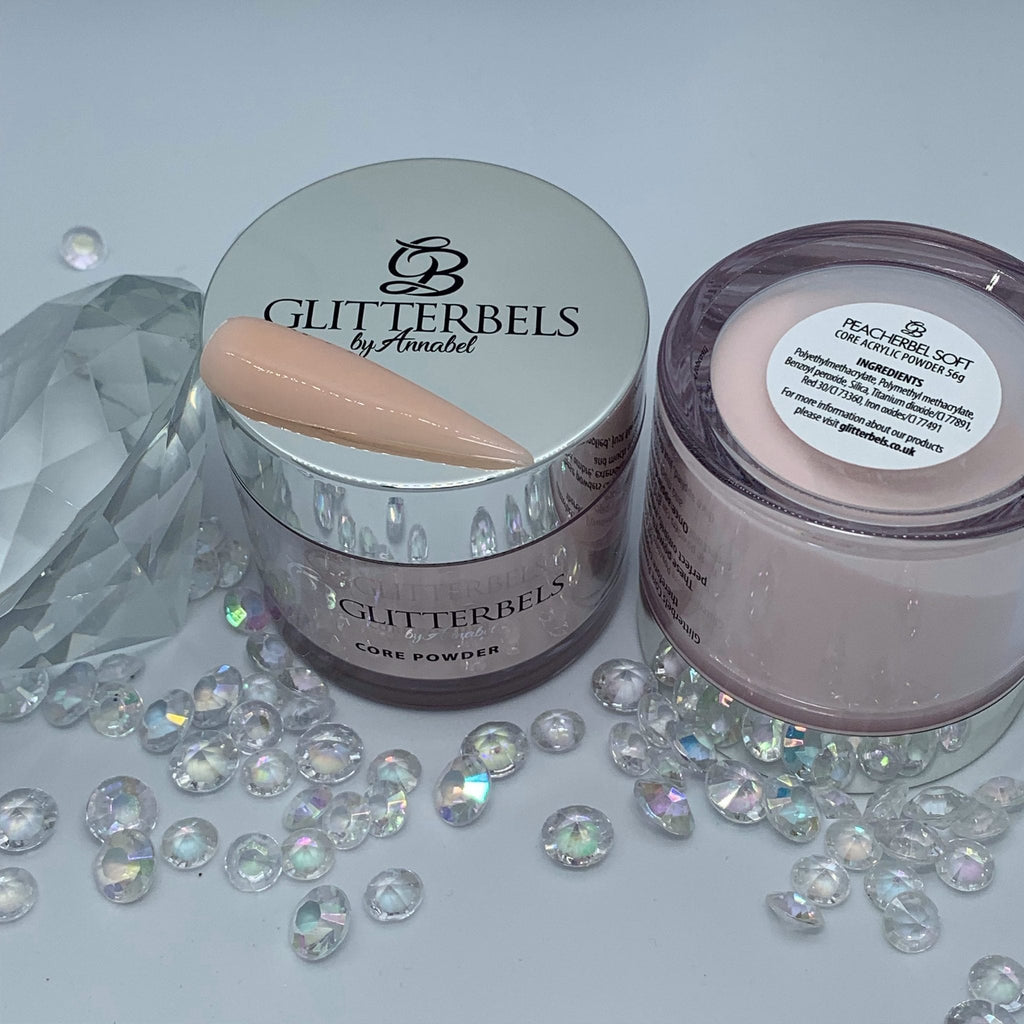 Peacherbel Soft Cover Acrylic - Glitterbels