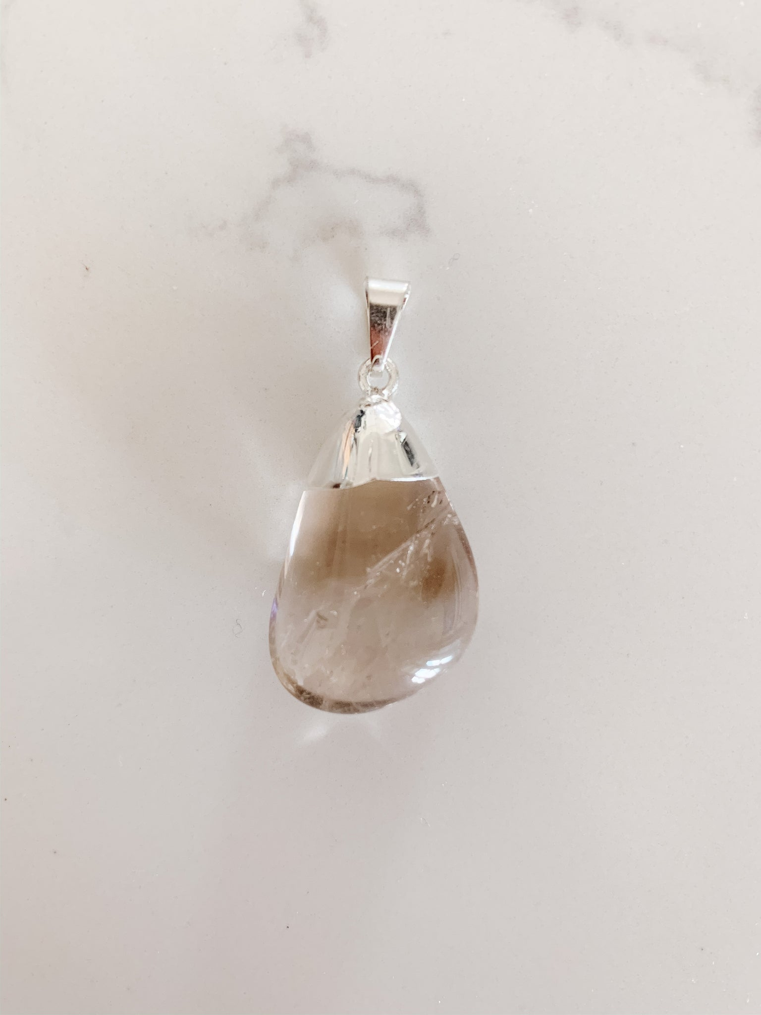 Tumbled Crystal Pendant