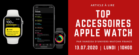 Top Accessoires Apple Watch | Univers-Watch