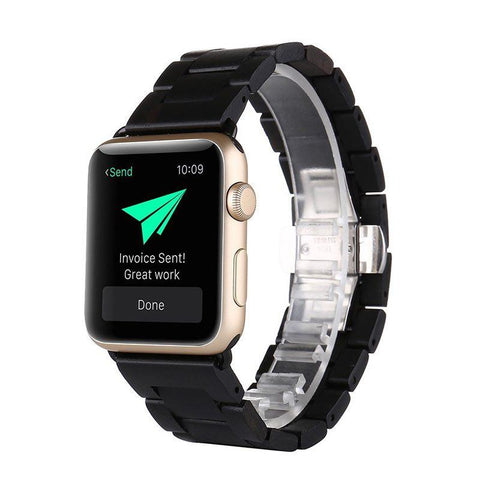 Bracelet Apple Watch <br /> Bois Santal - Univers-Watch