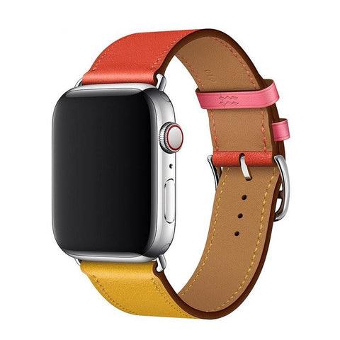 Bracelet Apple Watch <br /> Cuir Exotique - Univers-Watch